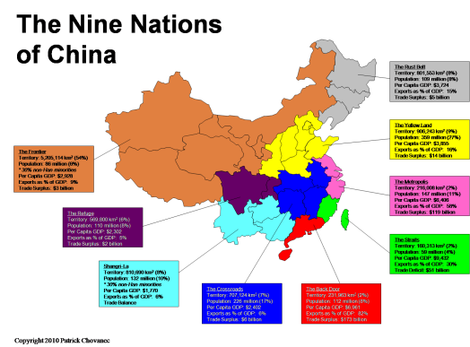 The Nine Nations of China | Patrick Chovanec
